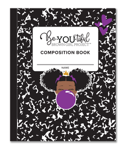 BeYOU Composition Book (Purple 8x10 Composition Book)
