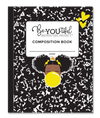 BeYOUtiful Brown Girl Composition NoteBook (8x10): YELLOW