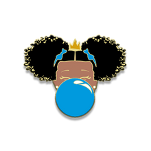 Load image into Gallery viewer, Classic Enamel Pin: Blue Bubble