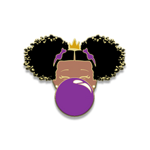 Load image into Gallery viewer, Classic Enamel Pin: Purple Bubble
