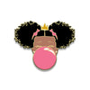 Classic Enamel Pin: Pink Bubble