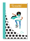 Signature BeYOUtiful Brown Girl Journal: Cori ( 6x9 Paperback)