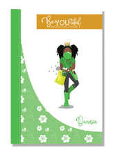 Load image into Gallery viewer, Signature BeYOUtiful Brown Girl Journal: Danasia ( 6x9 Paperback)