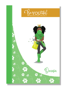Signature BeYOUtiful Brown Girl Journal: Danasia ( 6x9 Paperback)