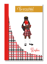 Load image into Gallery viewer, Signature BeYOUtiful Brown Girl Journal: Reighan ( 6x9 Paperback)