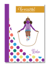 Signature BeYOUtiful Brown Girl Journal: Roslyn ( 6x9 Paperback)