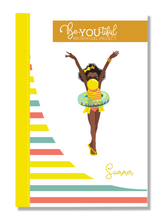 Load image into Gallery viewer, Signature BeYOUtiful Brown Girl Journal: Sommer ( 6x9 Paperback)