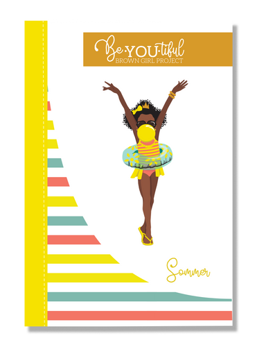 Signature BeYOUtiful Brown Girl Journal: Sommer ( 6x9 Paperback)