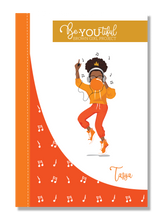 Load image into Gallery viewer, Signature BeYOUtiful Brown Girl Journal: Taysa ( 6x9 Paperback)