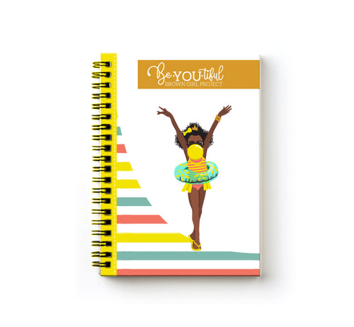 Signature BeYOU Journal: Sommer ( 5x7 SPIRAL BOUND)