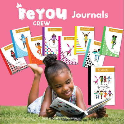 Signature BeYOUtiful Brown Girl Journal: Marley ( 6x9 Paperback)