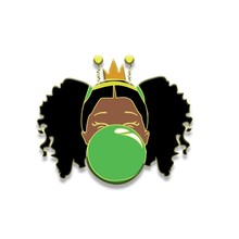 Load image into Gallery viewer, Signature Enamel Pin: Danasia (Green Bubble)