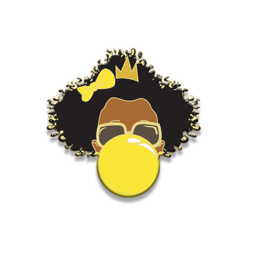 Signature Enamel Pin: Sommer (Yellow Bubble)