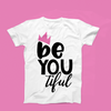 Classic BeYOUtiful Queen T-Shirt (Pink Crown)