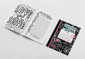 Love Your Selfie Journal and Coloring Book: Volume 1