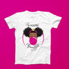 Classic BeYOU T-Shirt(ADULT): HOT PINK BUBBLE