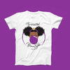 Classic BeYOU T-Shirt(ADULT): PURPLE BUBBLE