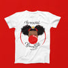 Classic BeYOU T-Shirt(ADULT): RED BUBBLE