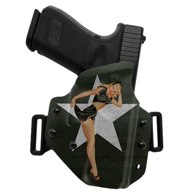 Army Pinup OWB Holster