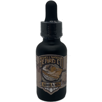 Shell Shock Beard Co. Beard Oil Abrams