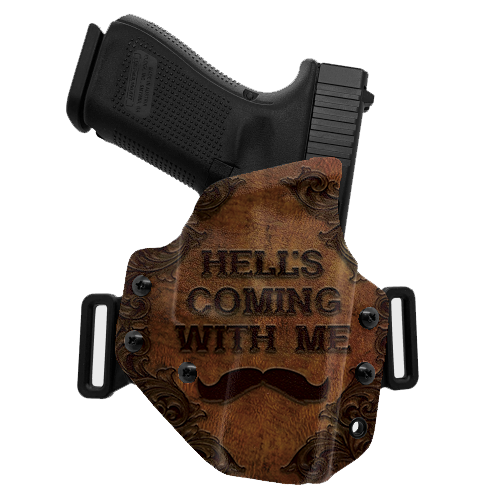 Hell's Coming OWB Holster