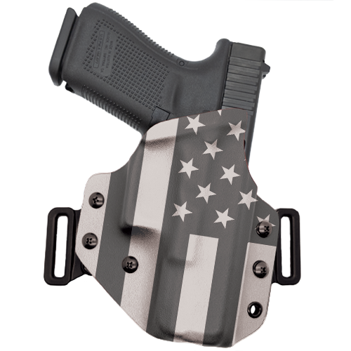 Black and White Flag OWB Holster