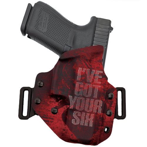 I've got Your Six Red OWB Holster