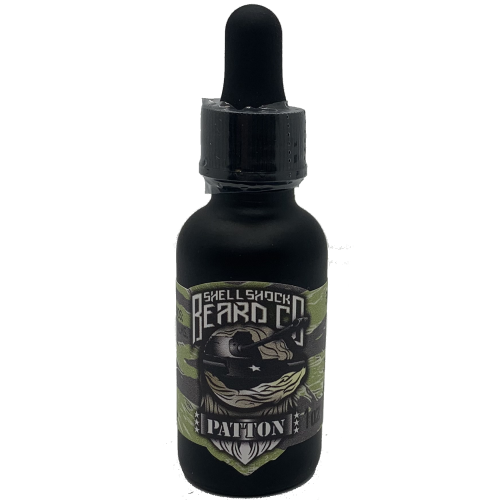 Shell Shock Beard Co. Beard Oil Patton