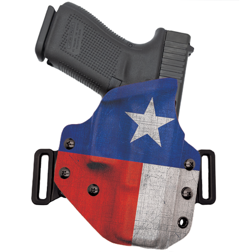 Texas Flag OWB Holster