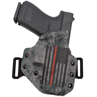 Thin Red Line Flag OWB Holster