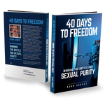 40 Days to Freedom - Winning the Battle for Sexual Purity (pub)  280pgs - author Dann Aungst