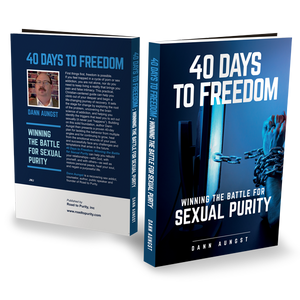 40 Days to Freedom - Winning the Battle for Sexual Purity (bulk)  280pgs - author Dann Aungst