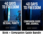 40 Days to Freedom (280pgs) + Companion Guide and Journal (400pgs)  2 book bundle