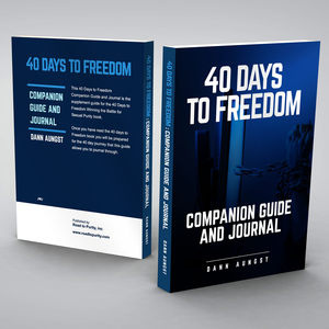40 Days to Freedom Companion Guide and Journal (400pgs)  author Dann Aungst