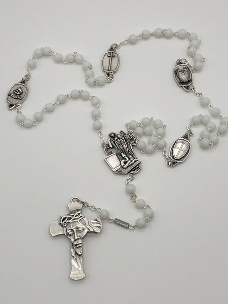 Exclusive Purity Rosary - handmade in Italy