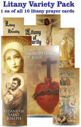 Litany Variety Pack (1 ea. of all 10 cards) $20 value