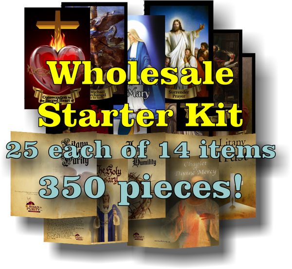 Wholesale bundle starter kit - 25 each of 14 items (350 total pieces) $412.50 value  (b)