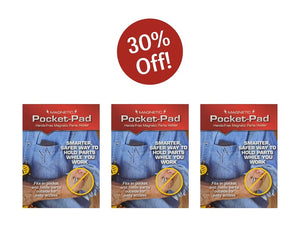 The Pocket-Pad Triple Pack