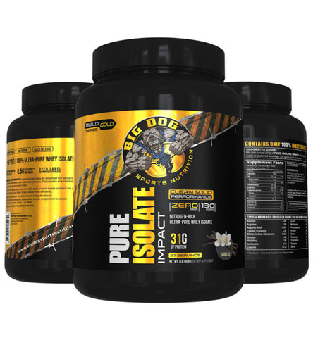 Big Dog Pure Isolate Impact Gold