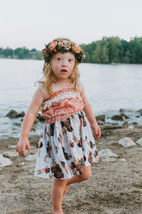 Girls Moana Dress - Island Girl Outfit