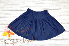 Load image into Gallery viewer, Girls Denim Twirl Skirt