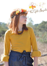 Load image into Gallery viewer, Girls Knit Bell Sleeve Top
