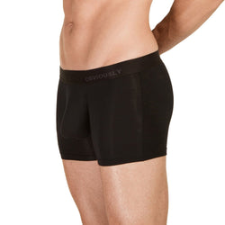 PrimeMan - Boxer Brief 3 inch Leg Obviously Apparel Black Small