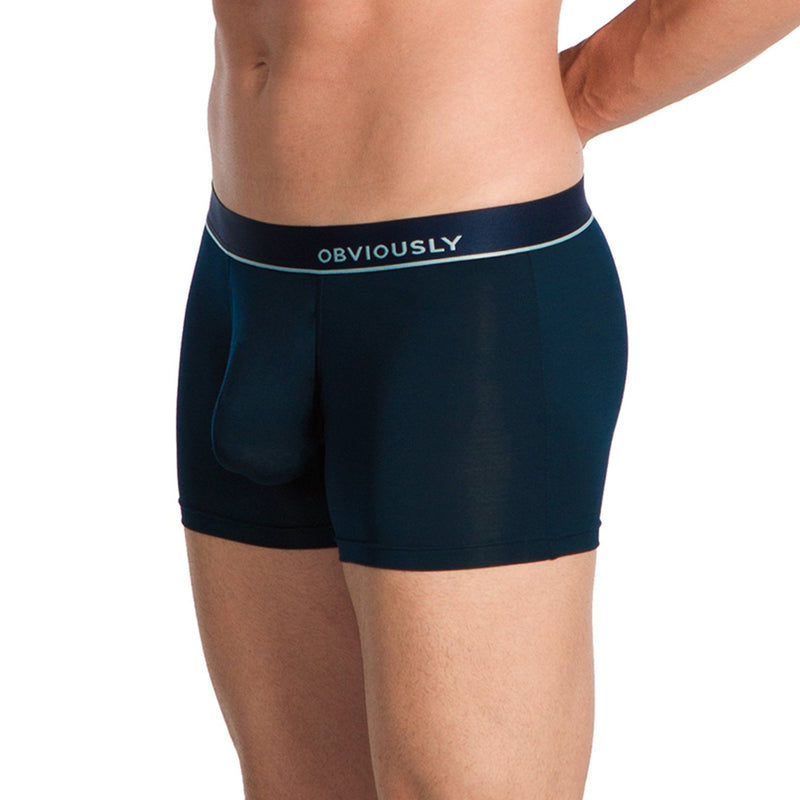PrimeMan - Boxer Brief 3 inch Leg Obviously Apparel Midnight Small