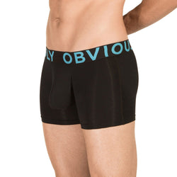 EveryMan - Boxer Brief 3 inch Leg Obviously Apparel Black Small