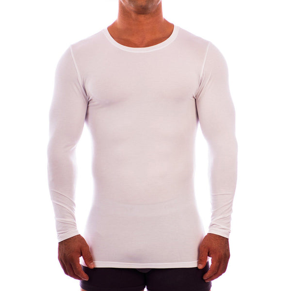 Crew Neck Long Sleeve Undershirt Obviously Apparel