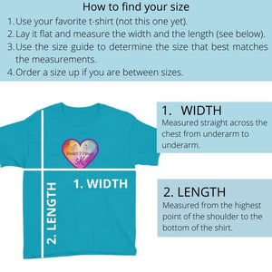 how to find your t-shirt size