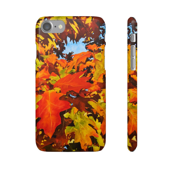 Burst Of Autumn - Snap iPhone Cases