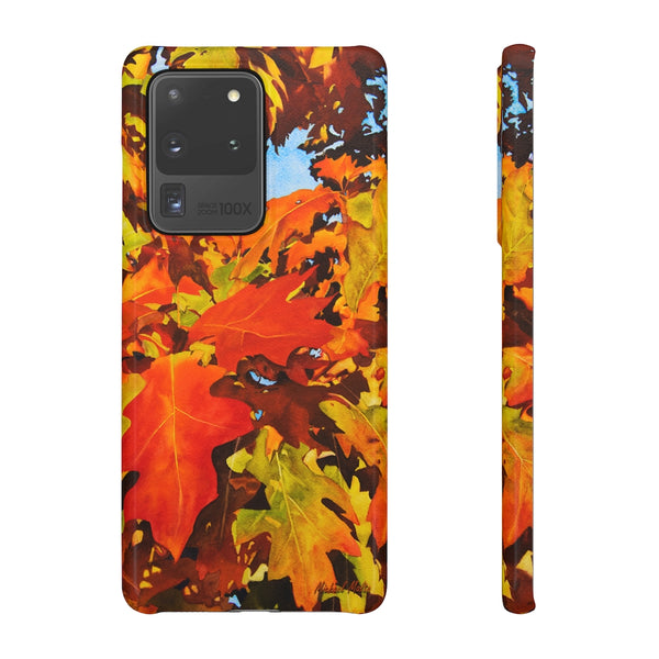 Burst Of Autumn - Snap Samsung Case