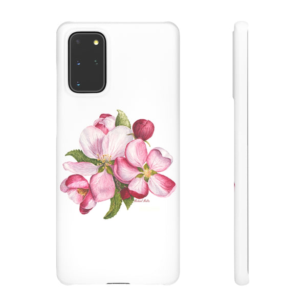 Apple Blossoms - Snap Samsung Cases